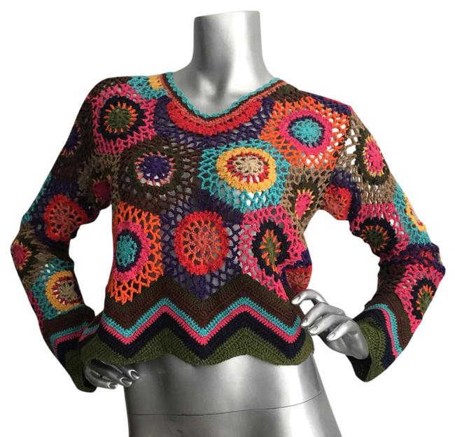 Express Tricot Rainbow Sweater Express Tricot Rainbow Sweater Image 1