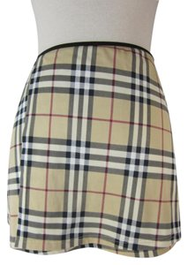 Burberry Beige Nova Check Swim Cover Up / Wrap (h) Sz: S (4 to 8)