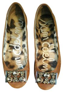 Sam Edelman Brown suede Flats