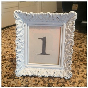 Rustic White Mini Frames