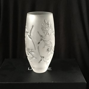 Lalique Edelweiss Vase Decorative Objects