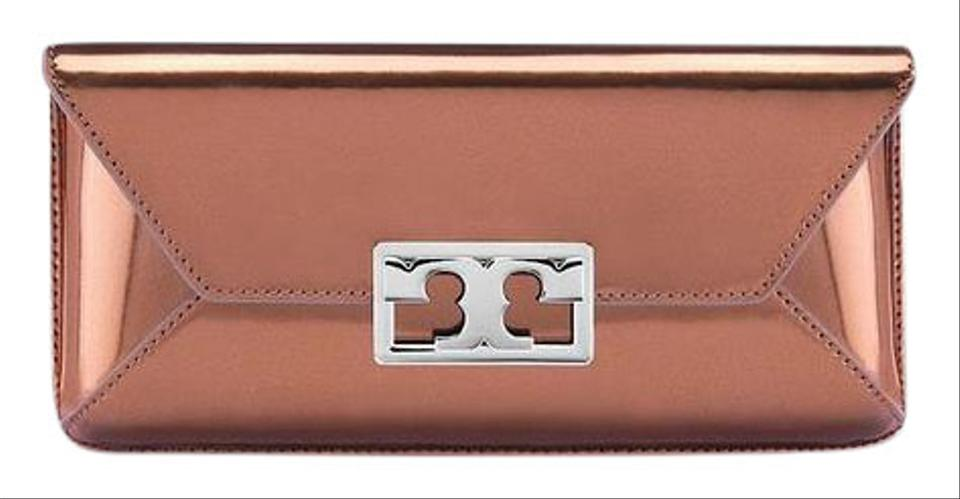 Gigi Mika Clutch Metallic Tory Burch A5wx8Cqq