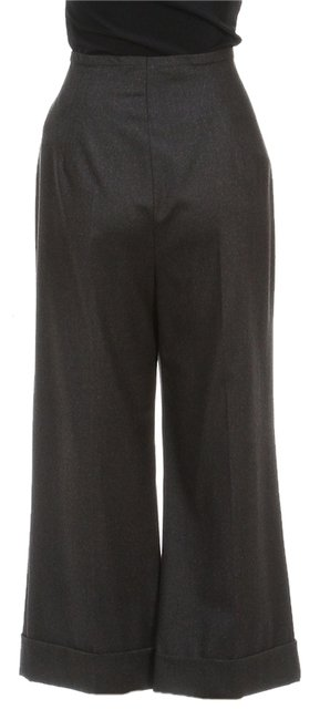 Escada Capri/Cropped Pants Gray