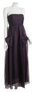 Vera Wang Lavender Label Fully Lined Pleated 100% Silk Dress
