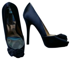 Badgley Mischka Black Platforms