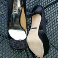 Badgley Mischka Black Platforms Image 2