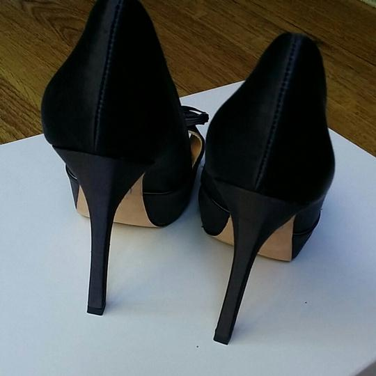 Badgley Mischka Black Platforms Image 5