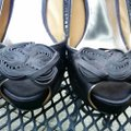 Badgley Mischka Black Platforms Image 8