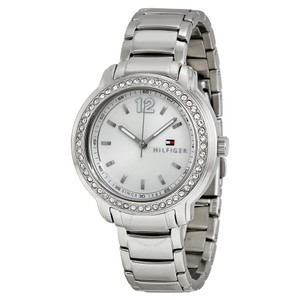 Tommy Hilfiger Tommy Hilfiger Silver Stainless Callie Crystal Womens Watch 1781469