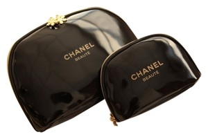 Chanel Chanel Cosmetic Bags, Set of 2. Great Deal!
