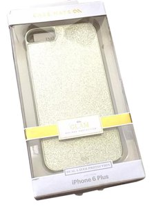 Glam case for iphone 6 plus dual protection