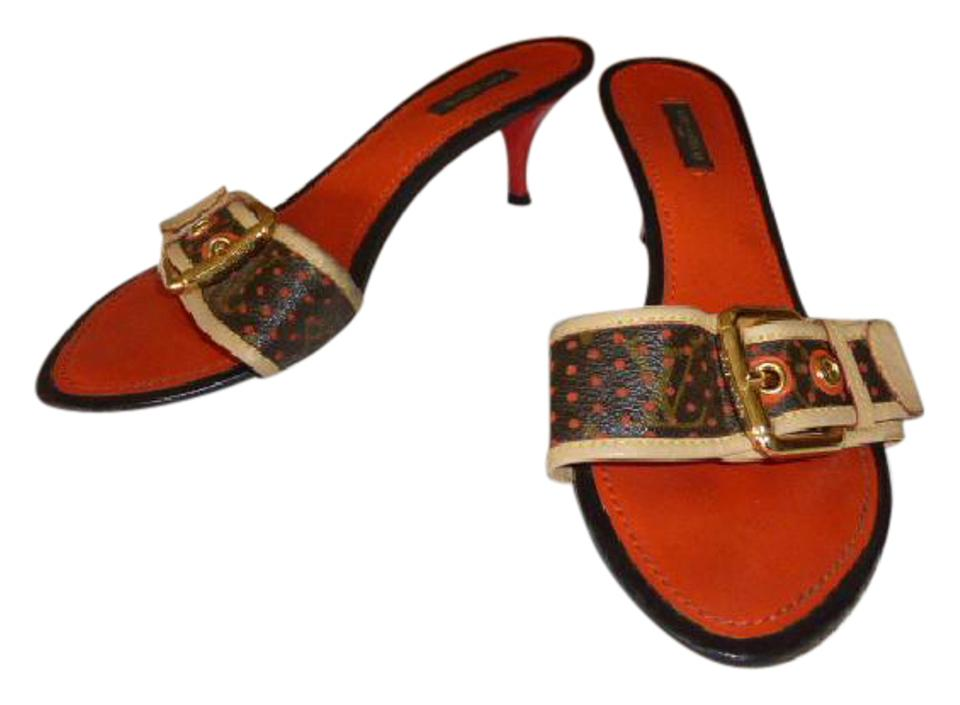 3eb45bd2db9c Orange Louis Vuitton Mules   Clogs - Up to 90% off at Tradesy