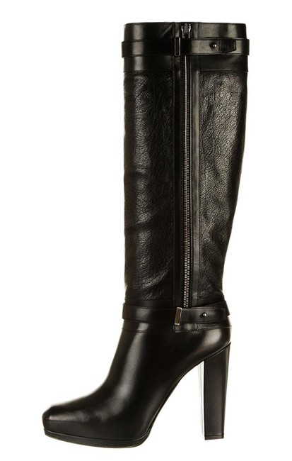 Belstaff Black Runway Gainsborough Leather Knee-high Boots/Booties Size US 9.5 Regular (M, B) Belstaff Black Runway Gainsborough Leather Knee-high Boots/Booties Size US 9.5 Regular (M, B) Image 1