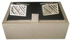 Burberry Burberry Cage-Check Cufflinks