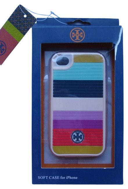 Item - Multicolor Silicone Cover For Iphone 4 Tech Accessory