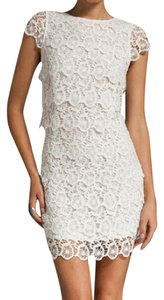 See by Chloé short dress White Lace Day on Tradesy