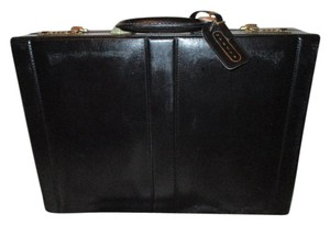 Jaguar Briefcase Faux Leather black Messenger Bag