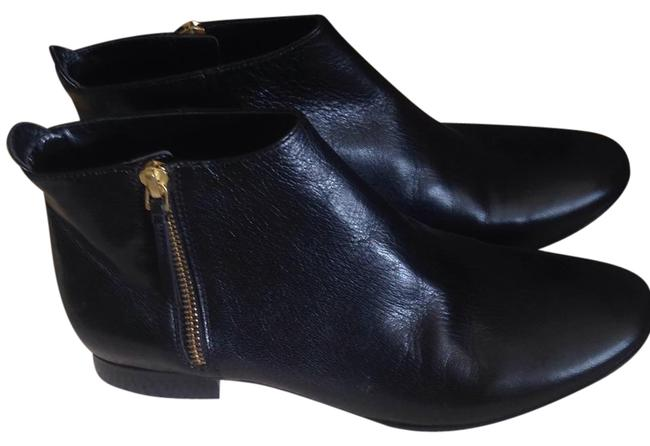 Item - Black Leather Boots/Booties Size US 7.5 Regular (M, B)