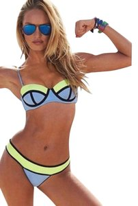 Victoria's Secret color block bikini