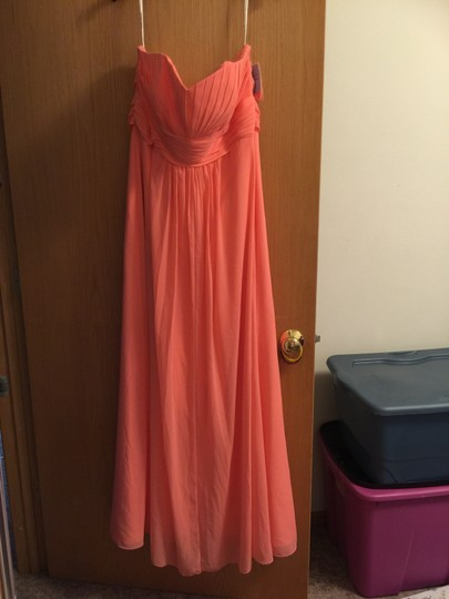 David's Bridal Coral Reef Dress