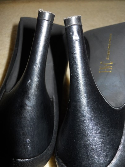 INC International Concepts Leather Mbc black Pumps Image 7