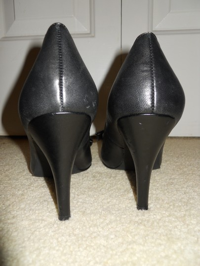INC International Concepts Leather Mbc black Pumps