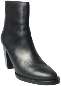 & Other Stories Leather Heel Heel New Black Boots