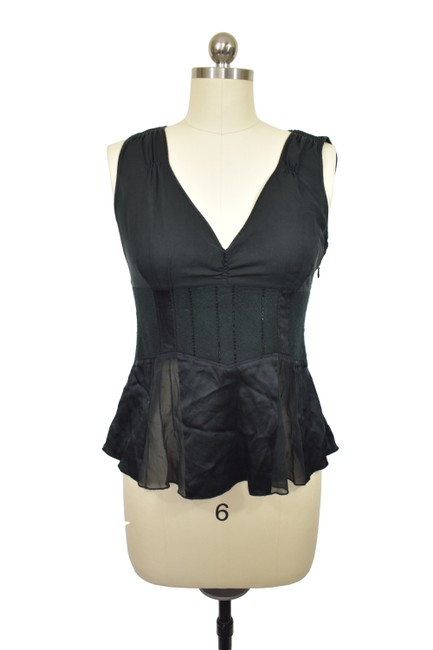 Item - Black L Blouse Size 4 (S)