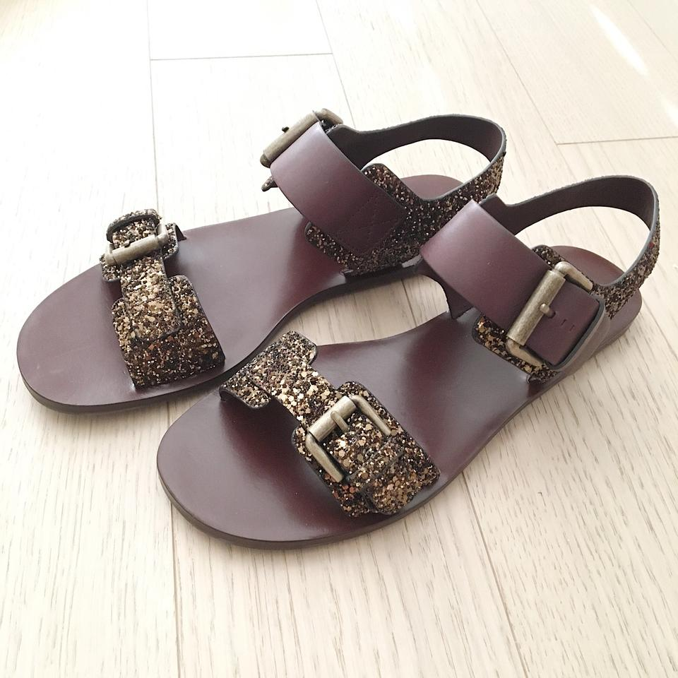 14b6dcee571 See by Chloé Brown Romy Sandals Size EU 38 (Approx. US 8) Regular (M ...