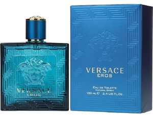 Versace Versace Eros by Versace Men 3.3 / 3.4 oz 100 ml EDT Cologne Spray New.