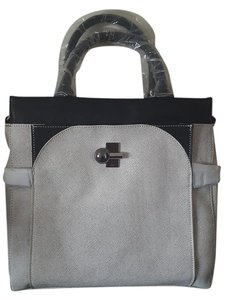 Danielle Nicole Tote in White/Black
