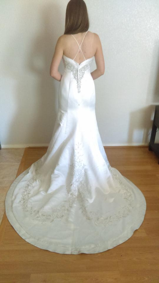 David 39 s bridal wedding dress wedding dresses on sale for Best way to sell used wedding dress