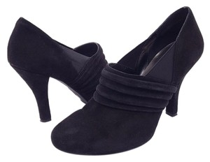 Me Too Suede Work Casual Black Boots