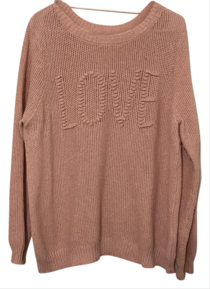 bbbddce664 LC Lauren Conrad Love Raised Knit Sweater - Tradesy