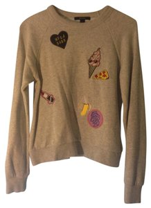 Forever 21 Patches Casual Sweatshirt