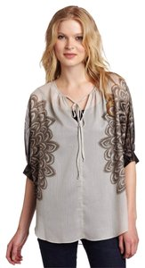 BCBGMAXAZRIA Top Dove Combo