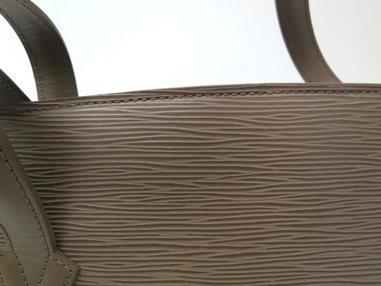 Louis Vuitton Lussac Epi Gray Leather Shoulder Bag