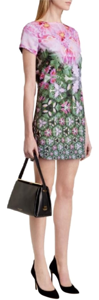 f3081a9a250c Ted Baker short dress Pink green Floral Sundress Summer Tunic on Tradesy  Image 0 ...