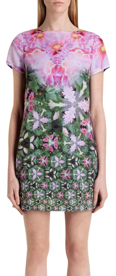 fff23be9524b Ted Baker short dress Pink green Floral Sundress Summer Tunic on Tradesy  Image 5. 123456