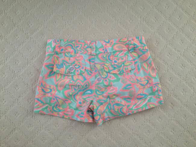 Lilly Pulitzer Dress Shorts Pink and green multi
