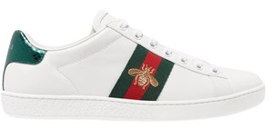 Gucci Gg Ace Sneakers Snake white Athletic