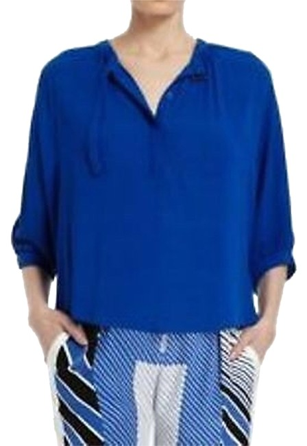 BCBGMAXAZRIA Top Larkspur blue