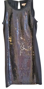Michael Kors Sparkling Outing Golden/Black Dress