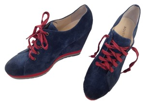Boutique 9 Blue Suede Boots