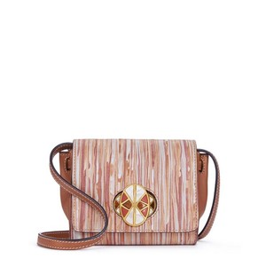 Tory Burch Shoulder Crossbody Satchel in Brown