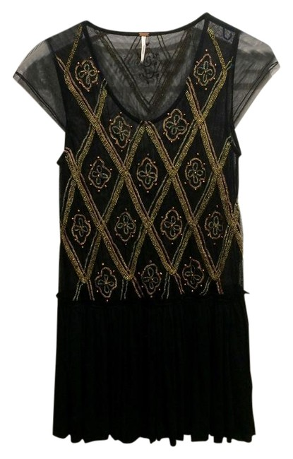 Preload https://img-static.tradesy.com/item/21623564/free-people-black-gold-beading-meshsheer-tunic-size-4-s-0-1-650-650.jpg