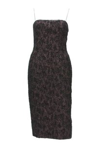 Bottega Veneta short dress Black with Pink Background on Tradesy