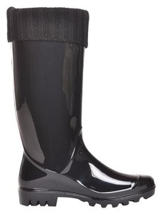 däv Goloshes Rubbers Rain Bonnaroo black Boots