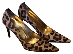Dolce&Gabbana Brown and tan leopard print Pumps
