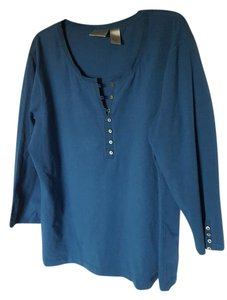 Chico's T Shirt Teal